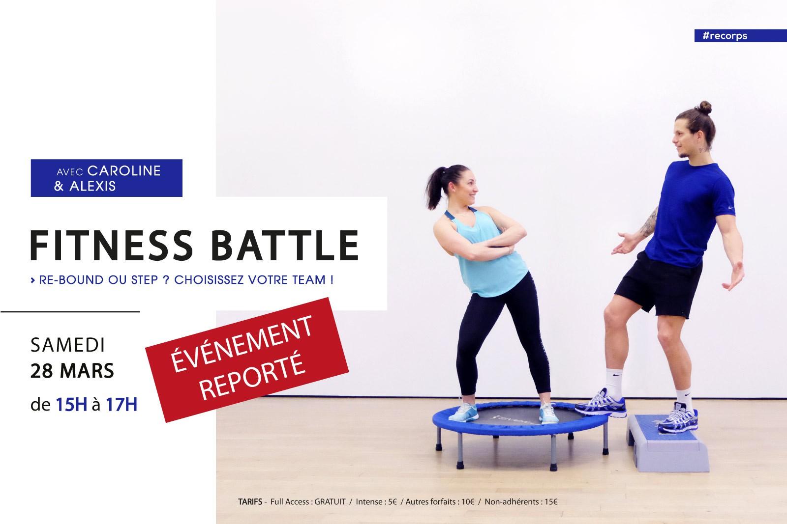 FITNESS BATTLE : RE-BOUND VS STEP