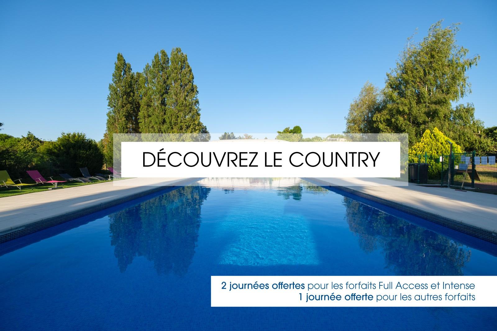 DÉCOUVREZ LE COUNTRY !